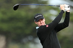 Jimmy Walker during the third round of the AT&T Pebble Beach National Pro-Am.