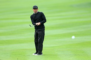 Kelly Slater, pro surfer, during the third round of the AT&T Pebble Beach National Pro-Am.
