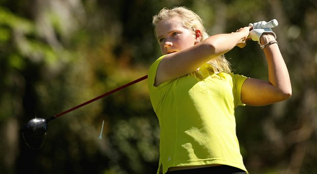 Baylor's Hayley Davis fired an even-par 71 on Sunday at the NorthropGrumman Regional Challenge.
