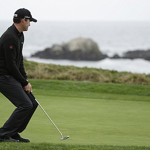 Jimmy Walker during the final round of the PGA Tour's 2014 AT&T Pebble Beach National Pro-Am.
