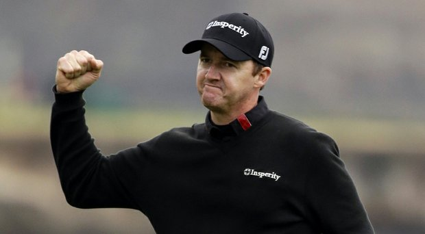 Jimmy Walker during his win at the PGA Tour's 2014 AT&T Pebble Beach National Pro-Am.