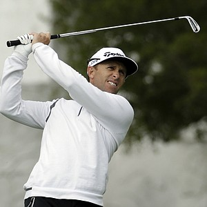 Tim Wilkinson during the final round of the PGA Tour's AT&T Pebble Beach National Pro-Am.