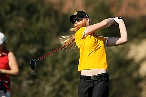 Dulcie Sverdloff of Kennesaw State during the UCF Challenge at Eagle Creek Golf Club.