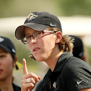 Fanny Cnops of UCF was the medalist during the UCF Challenge at Eagle Creek Golf Club.