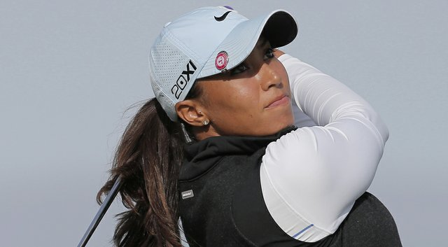 Cheyenne Woods has drawn LPGA legend Laura Davies and Brittany Lincicome for her first- and second-round tee times at the 2014 Women's Australian Open (Woods shown here during the 2013 Evian Championship).