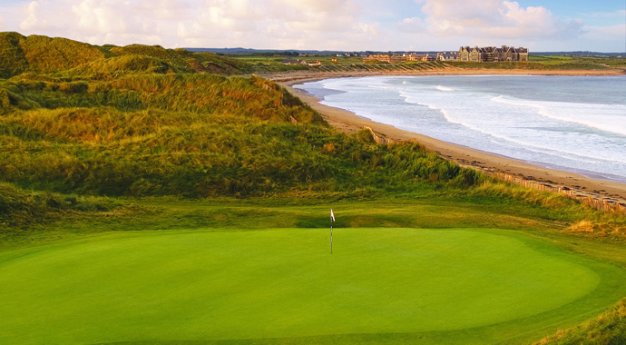 Donald Trump purchased Doonbeg Golf Club in 2014.