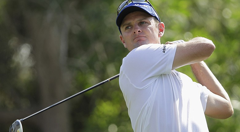 Justin Rose is returning from a shoulder injury at the PGA Tour's 2014 Northern Trust Open (shown here at the 2013 World Tour Golf Championship).