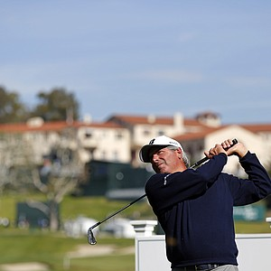 Fred Couples during Wednesday's pro-am day at the PGA Tour's 2014 Northern Trust Open at Riviera CC near Los Angeles.