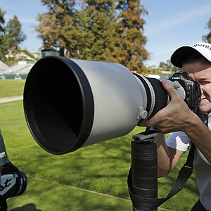 Jimmy Walker during Wednesday's pro-am day at the PGA Tour's 2014 Northern Trust Open at Riviera CC near Los Angeles.