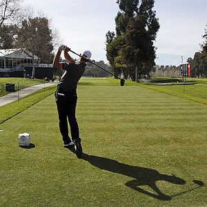 John Merrick during Wednesday's pro-am day at the PGA Tour's 2014 Northern Trust Open at Riviera CC near Los Angeles.