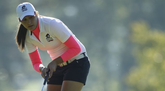 Robert Morris senior Annie Bozich said the team's goal is to win a conference title.