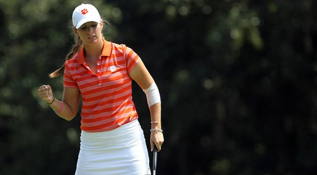 Freshman Ashlan Ramsey and the Clemson Tigers will pair up with Virginia at the Florida State Match-Up Friday through Sunday.