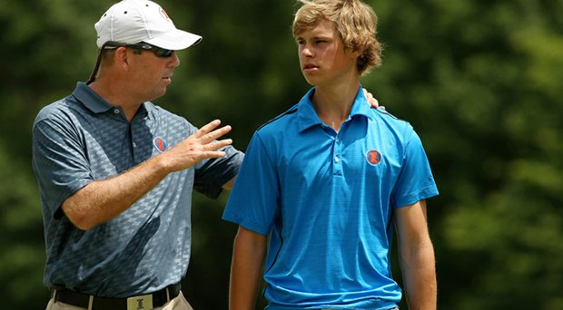 Illinois head coach Mike Small and sophomore Thomas Detry head into the Big Ten Match Play as the top seed.