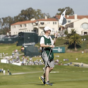Padraig Harrington during the first round of the PGA Tour's 2014 Northern Trust Open at Riviera near Los Angeles.