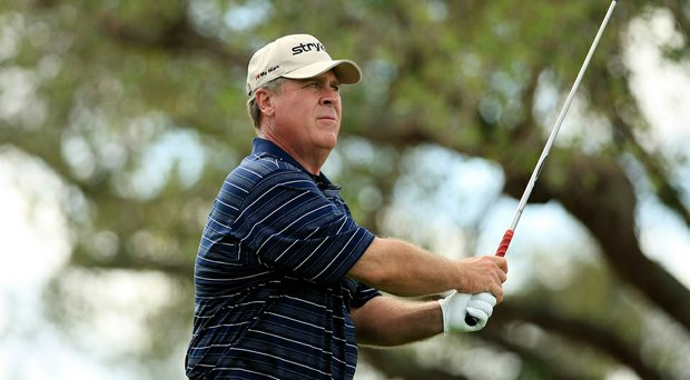 Former Ryder Cup captain Hal Sutton suffered a minor heart attack Friday.