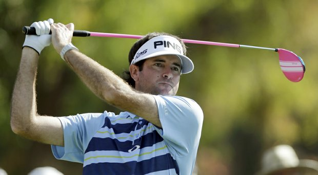 Bubba Watson during Sunday's final round of the PGA Tour's 2014 Northern Trust Open at Riviera CC near Los Angeles.