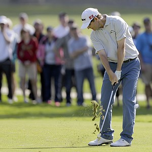 George McNeill during the final round of the PGA Tour's 2014 Northern Trust Open at Riviera CC near Los Angeles.