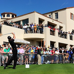 Jimmy Walker during the final round of the PGA Tour's 2014 Northern Trust Open at Riviera CC near Los Angeles.