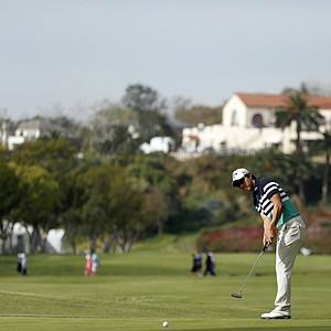 Sang-Moon Bae during the third round of the PGA Tour's 2014 Northern Trust Open.