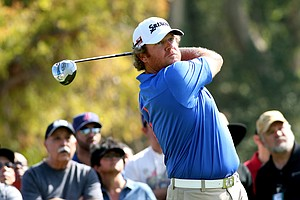 William McGirt during the final round of the PGA Tour's 2014 Northern Trust Open at Riviera CC near Los Angeles.