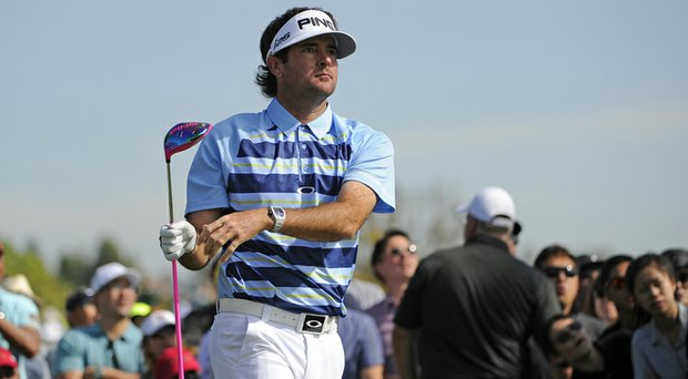 Bubba Watson used a pink Grafalloy BiMatrx Tour Prototype shaft in his Ping G25 driver in winning the Northern Trust Open.