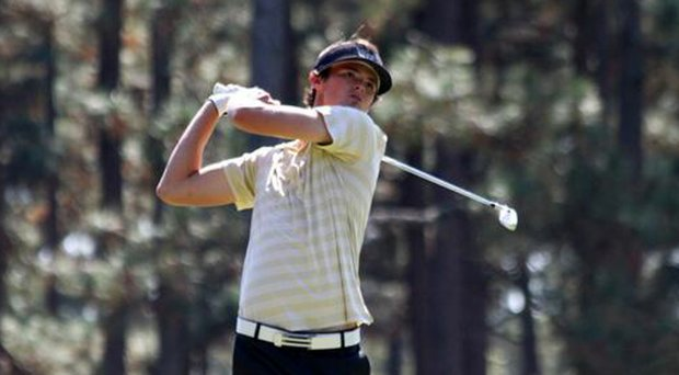 Freshman Clancy Waugh of Wake Forest won his first collegiate event at the Mobile Bay Intercollegiate on Feb. 18.