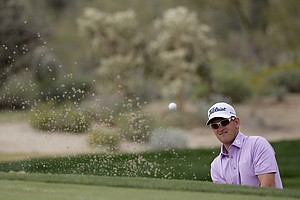 Bernd Wiesberger at the WGC Match Play 2014