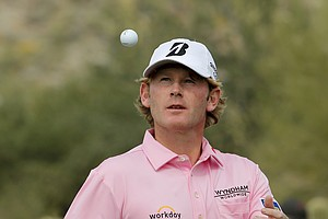 Brandt Snedeker at the WGC Match Play 2014