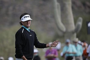 Bubba Watson at the WGC Match Play 2014