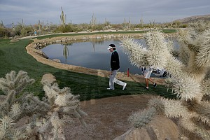Bubba Watson at the WCG Match Play 2014