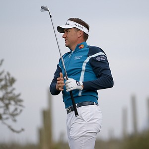 Ian Poulter at the WCG Match Play 2014