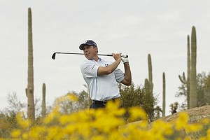 Matt Kuchar at the WGC Match Play 2014