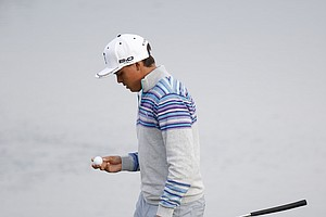Rickie Fowler at the WGC Match Play 2014