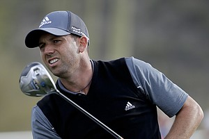 Sergio Garcia at the WGC Match Play 2014