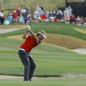 Victor Dubuisson at the WGC Match Play 2014