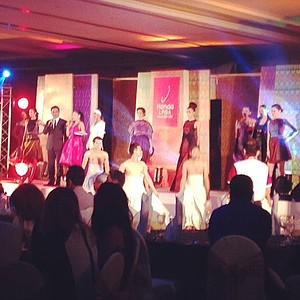 Fashion show and gala dinner at the Honda PGA Thailand Tournament