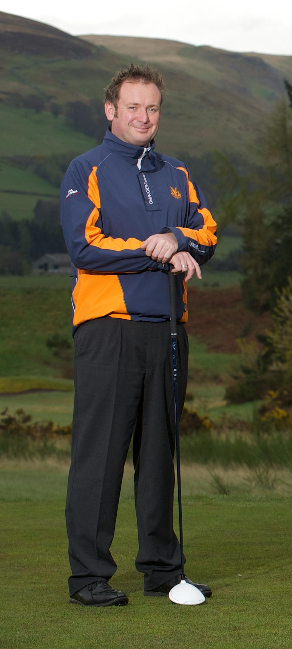 Andrew Jowett, head professional at The Gleneagles Hotel.