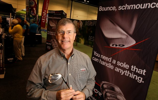 Terry Koehler, President and Ceo, SCOR Golf, at the 2014 PGA Merchandise Show at the Orange County Convention Center.