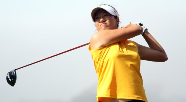 USC's Annie Park during the Northrop Grumman Regional Challenge.