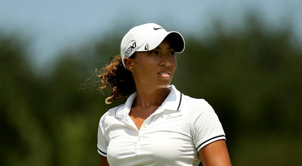 Cheyenne Woods' victory at the Ladies European Tour's Volvik RACV Ladies Masters quickly garnered attention (Woods is shown here during 2012 LPGA Q-School).