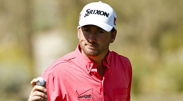 Graeme McDowell during his second-round win during the 2014 WGC-Accenture Match Play at Dove Mountain in Marana, Ariz.