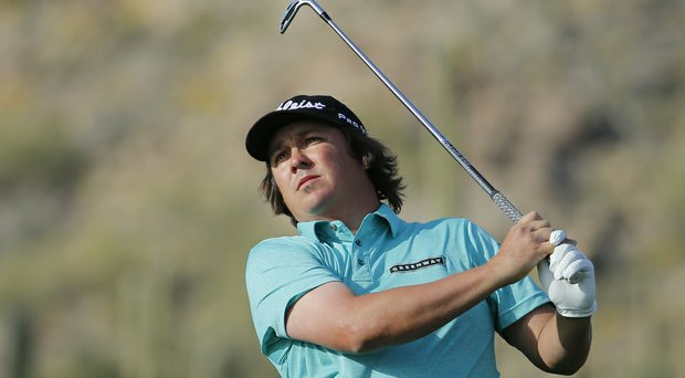 Jason Dufner during the 2014 WGC-Accenture Match Play at Dove Mountain in Marana, Ariz.