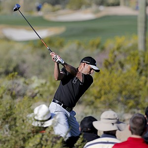 Sergio Garcia during Thursday's second round of the PGA Tour's 2014 WGC-Accenture Match Play at Dove Mountain in Marana, Ariz.