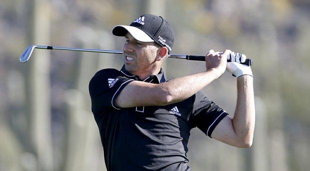 Sergio Garcia during Thursday's second round of the PGA Tour's 2014 WGC-Accenture Match Play at Dove Mountain in Marana, Ariz.