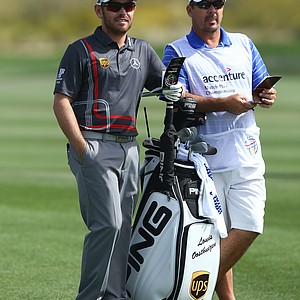 Louis Oosthuizen in Ping apparel.