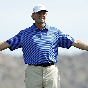Ernie Els during the quarterfinals of the WGC-Accenture Match Play.