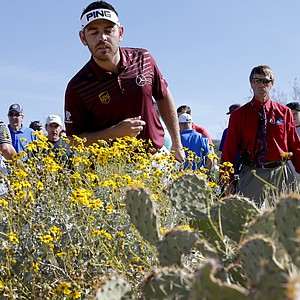 Louis Oosthuizen during the quarterfinals of the WGC-Accenture Match Play.