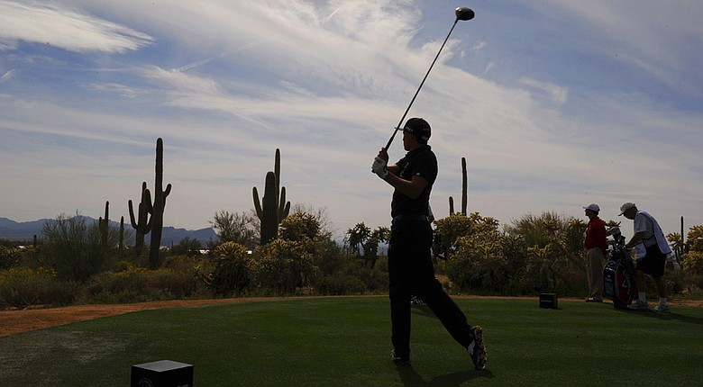 Rickie Fowler is one of four semifinalists competing Sunday morning at the WGC-Accenture Match Play.