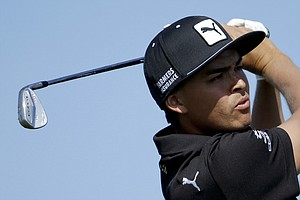 Rickie Fowler during the quarterfinals of the WGC-Accenture Match Play.
