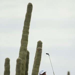 Ernie Els during the 2014 WGC-Accenture Match Play at Dove Mountain in Marana, Ariz.